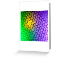 Straws of the Rainbow  Greeting Card
