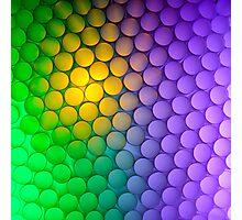 Straws of the Rainbow  Photographic Print