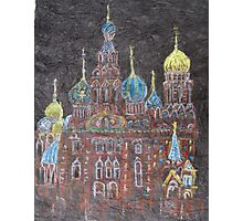 Church of the Spilled Blood St.Petersburg, Russia Photographic Print