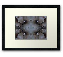 My Cave art 40 Framed Print