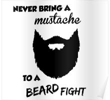 Funny Bearded Shirt Poster