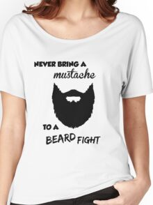 Funny Bearded Shirt Women's Relaxed Fit T-Shirt
