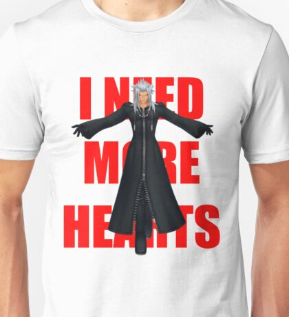 "Xemnas ""I Need More Hearts"" Unisex T-Shirt"