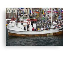 Tall ships race in Bergen Canvas Print