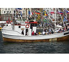 Tall ships race in Bergen Photographic Print