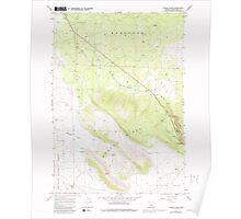 USGS Topo Map Oregon Horse Ridge 280247 1967 24000 Poster