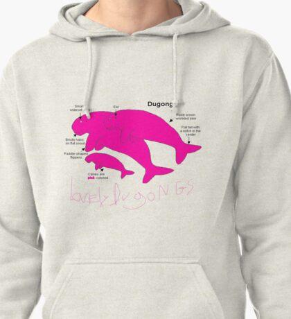 pink dugongs Pullover Hoodie