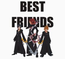 "Axel, Roxas and Xion ""Best Friends"" by Ewing24601"