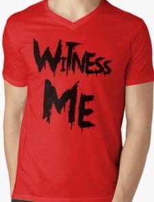 Witness Me Mens V-Neck T-Shirt