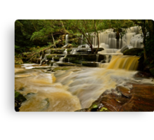 Bottom Falls.20-7-11. Canvas Print