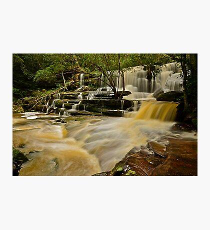 Bottom Falls.20-7-11. Photographic Print