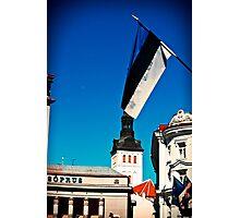 Tallinn. Old Town. Photographic Print