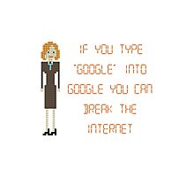"The IT Crowd – If You Type ""Google"" into Google Photographic Print"