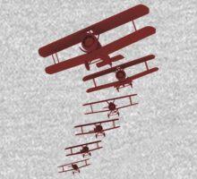 Retro Biplane Graphic T-Shirt