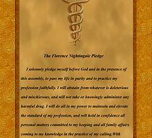 Nursing Pledge Poster by Packrat
