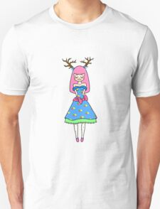 Cute Deer Girl T-Shirt