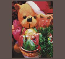 Merry X'mas Teddy Bear Kids Clothes