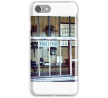 Ancient post office iPhone Case/Skin