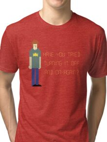 The IT Crowd – Have You Tried…? Tri-blend T-Shirt
