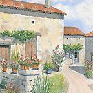 Village Scene, France by ian osborne