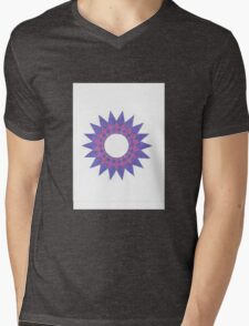 Shades of Purple Mens V-Neck T-Shirt
