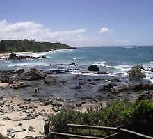 Flynns Beach NSW. by JazzieLouise