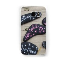 Feel Good Painted Rocks Samsung Galaxy Case/Skin