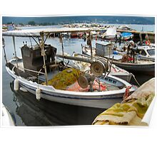 THASSOS WORKING BOATS.2 Poster