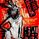 """WHATEVER"" - Collage by Belinda ""BillyLee"" NYE (Printmaker)"