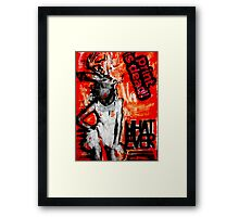 """WHATEVER"" - Collage Framed Print"