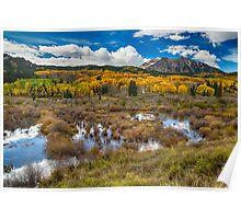 Rocky Mountain Kebler Autumn Rush Poster
