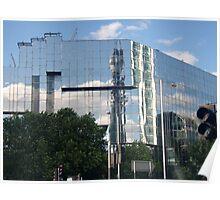 BT Telecom Tower Reflection Poster