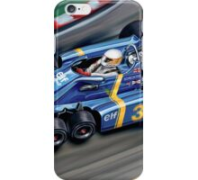 Tyrell 6 Wheel Formula One iPhone Case/Skin