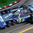 Tyrell 6 Wheel Formula One by davidkyte