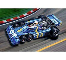 Tyrell 6 Wheel Formula One Photographic Print