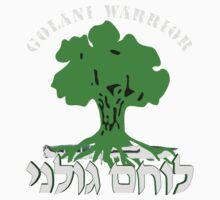 Golani Warrior for Dark Colors T-Shirt