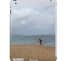 Surfer at pipeline - Oahu, Hawaii iPad Case/Skin
