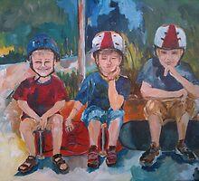 Three Daredevils by Robin Borland