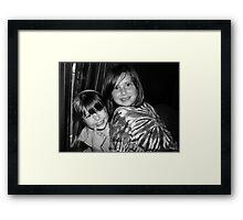 Goofy Girls Framed Print