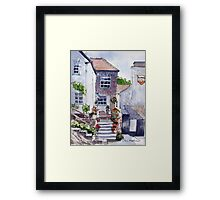 Polperro cottage Framed Print