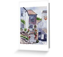 Polperro cottage Greeting Card
