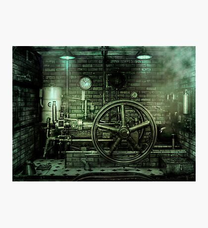 Engine Power Photographic Print