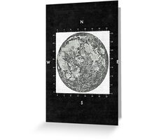 Moon Scale II Greeting Card