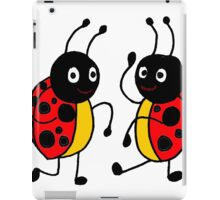 Funky Dancing Ladybugs iPad Case/Skin