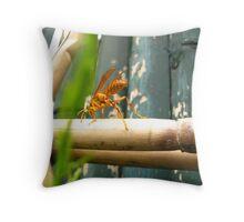 Bamboo Song Throw Pillow