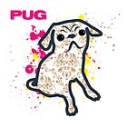 Pug by Jonathan Mitchell