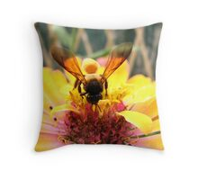 See It Through My Wings Throw Pillow