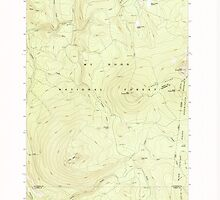 USGS Topo Map Oregon Pinhead Buttes 281101 1986 24000 by wetdryvac