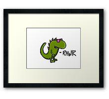 Vinasaur Framed Print