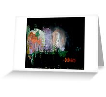 the darkened woods  Greeting Card